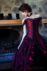 Parisian Gothic Bridal Gown custom made in Australia