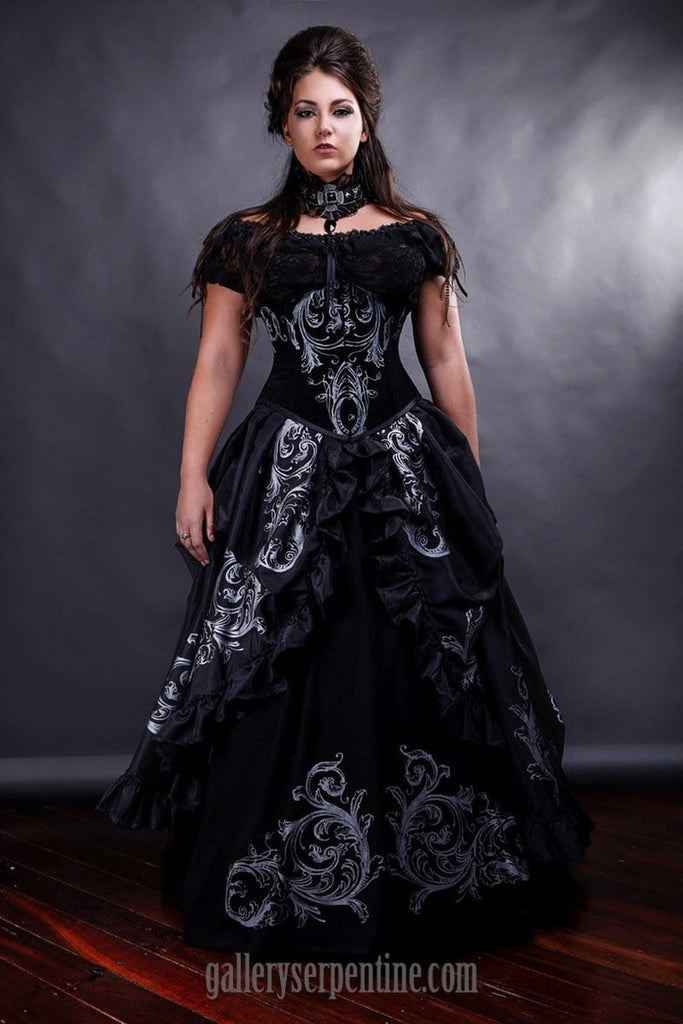 Baroque Gothic Wedding Dress | gothic baroque bridal gown – Gallery ...