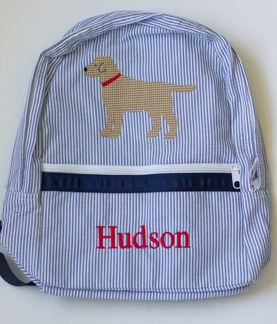 Personalized Labrador Backpack