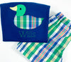 Boys Duck Applique Shirt