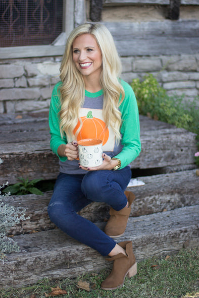 Fall Pumpkin Patch Tee