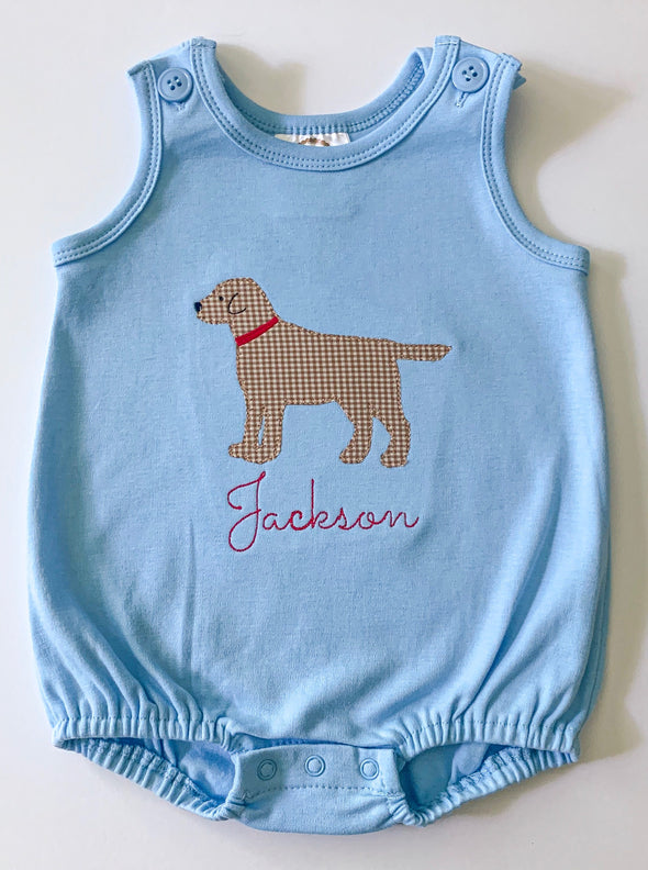 Labrador Applique Bubble