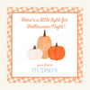 Halloween Watercolor Pumpkin Trio Tags - Boy