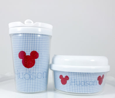 Experience the Magic with Mickey Sippy Cup and Snack Container