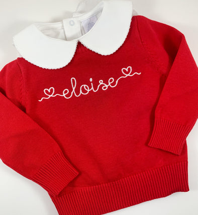 Sweater with Personalization