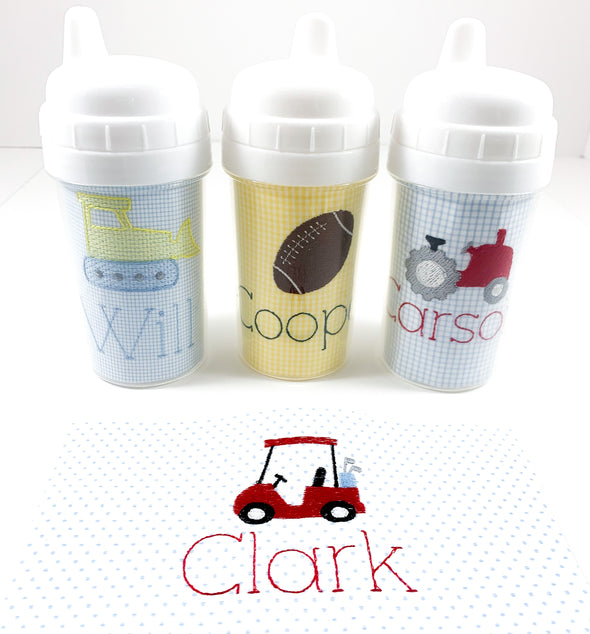 Sippy Cup, Tumbler, or Snack with Personalization
