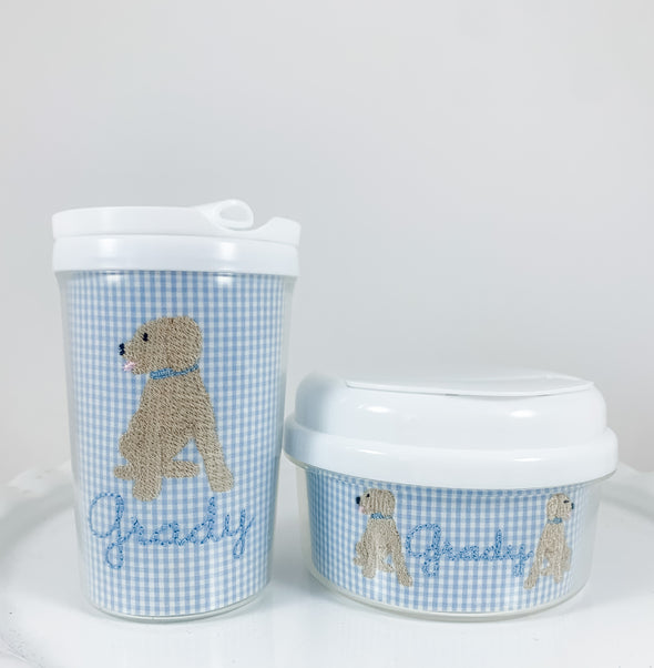 Puppy Dog Tumbler and Snack Container