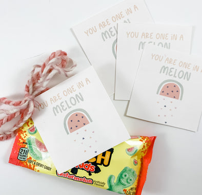 Valentine You Are One In A Melon Cards
