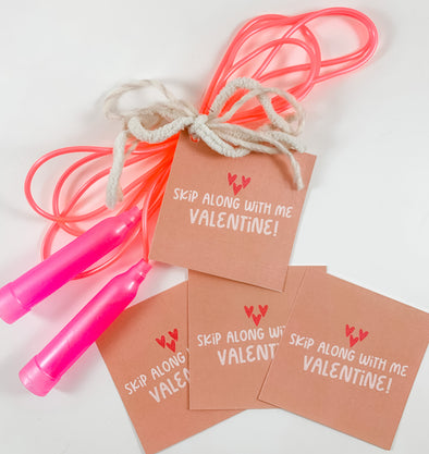 Valentine Skip Along With Me Cards