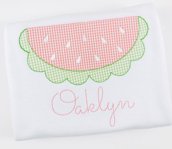 Watermelonappliqueshirt