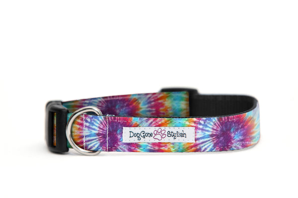 Tie Dye Bow Tie and Collar Set