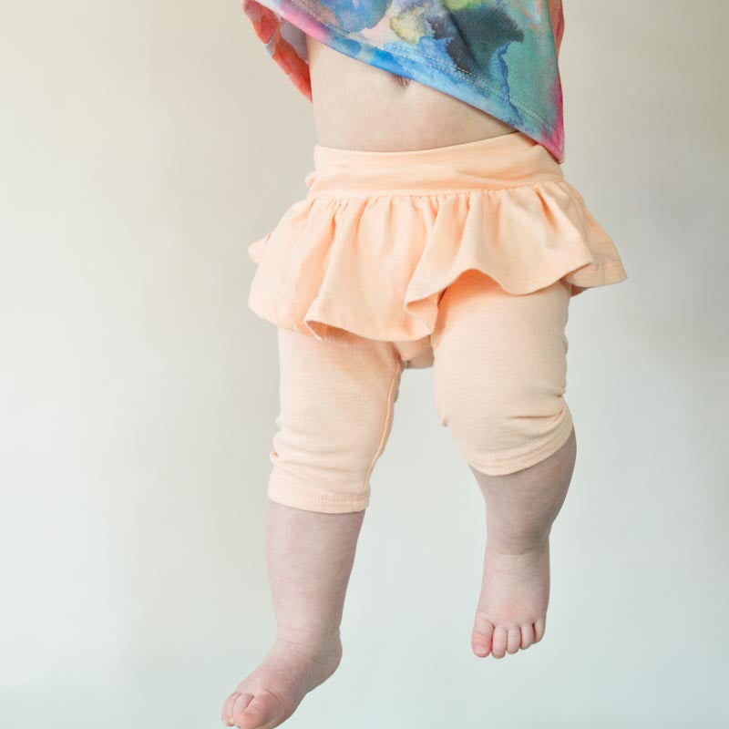 Pearl Spring Leggings W/Ruffle (Assorted Colors)