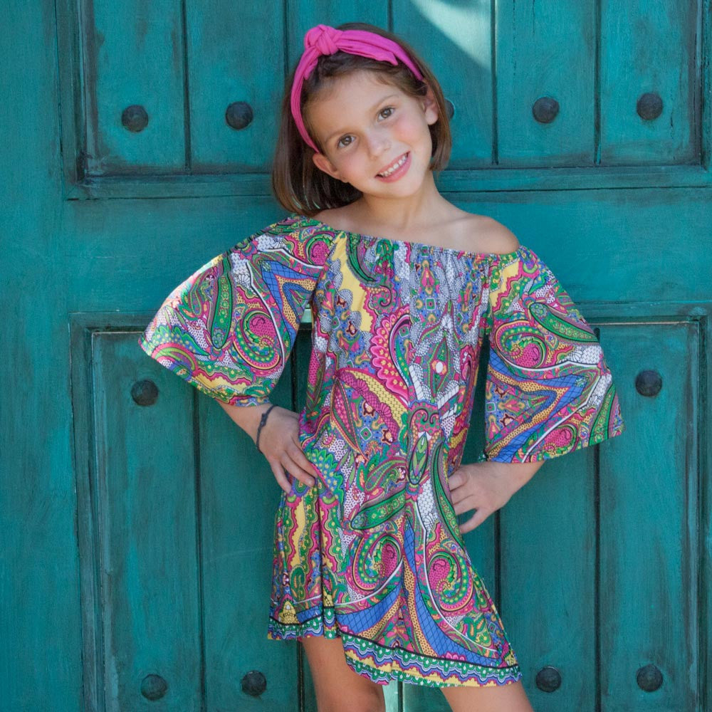 Raleigh Paisley Tunic Dress
