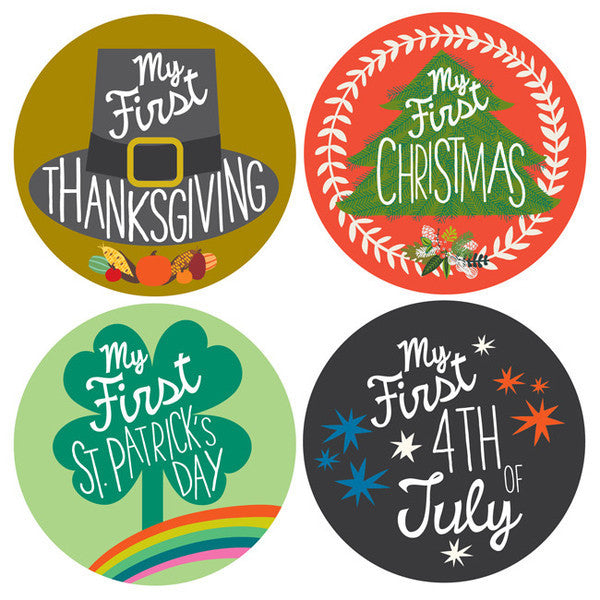 My First Holiday Stickers