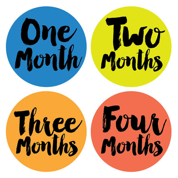 Little Poet Monthly Stickers