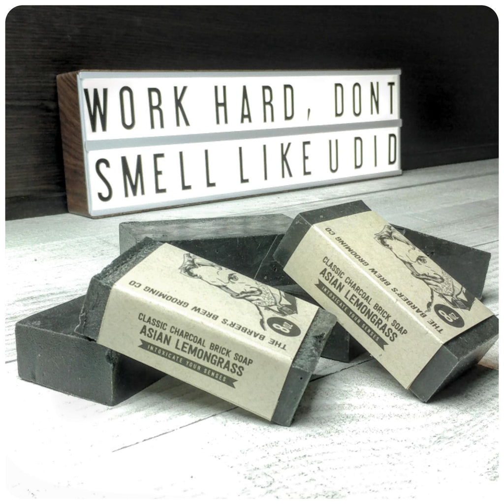 Classic Charcoal Brick Soap