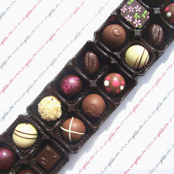 Artisan chocolate, chocolate gift box made in Gibsons, BC Sunshine Coast Canada