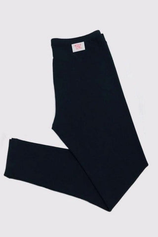 Soft Modal Leggings - Black