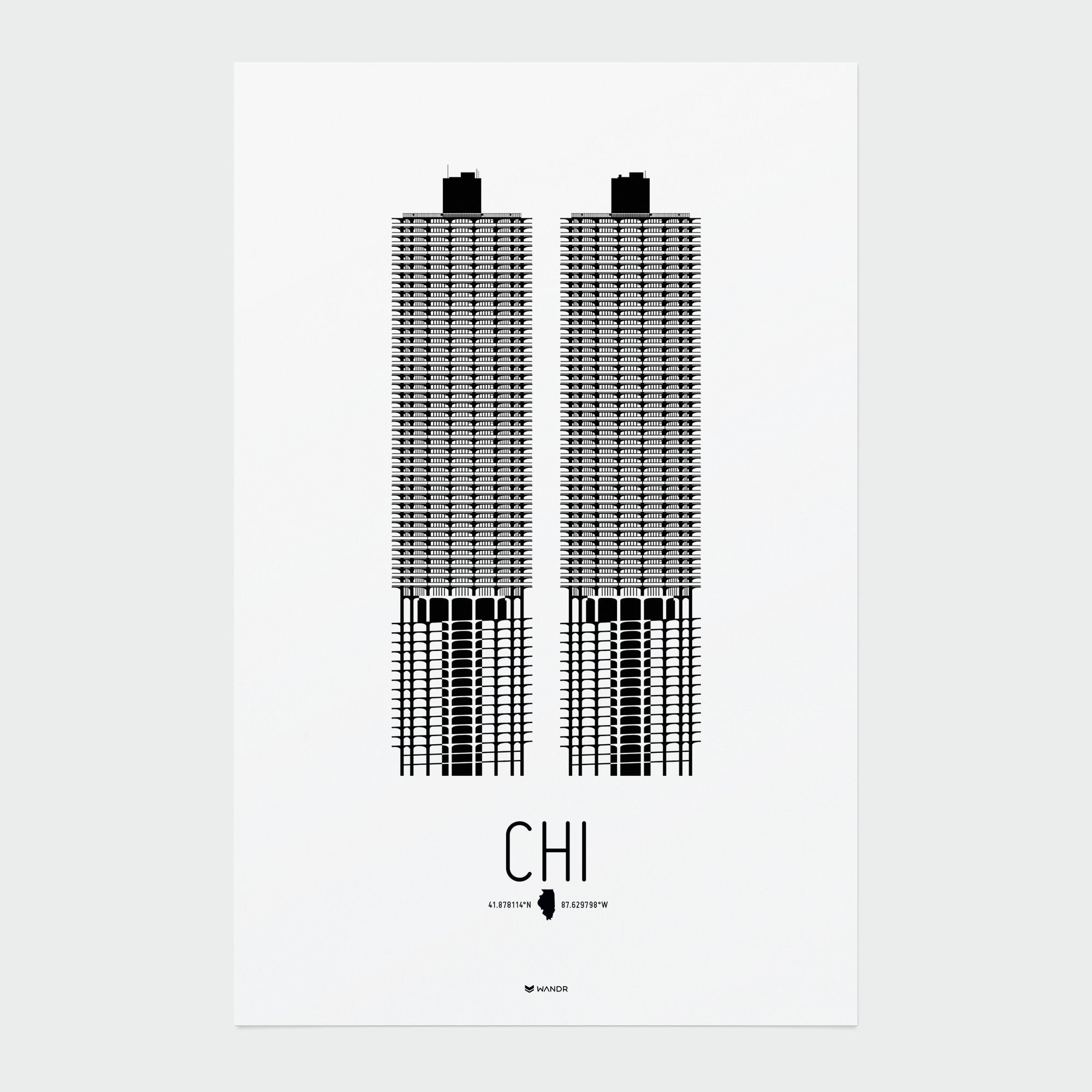 Chicago Icon poster 01