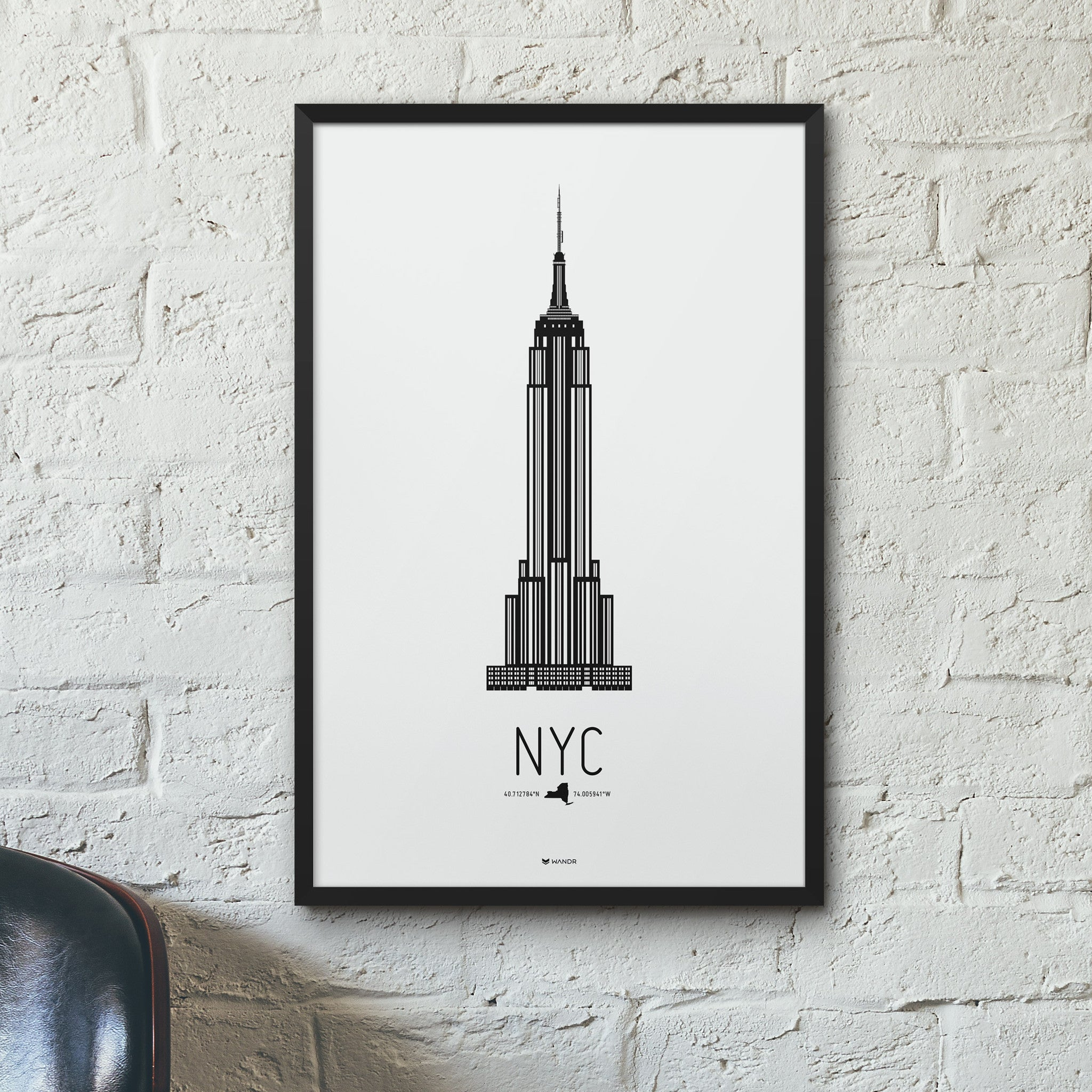 New York City Icon poster hero
