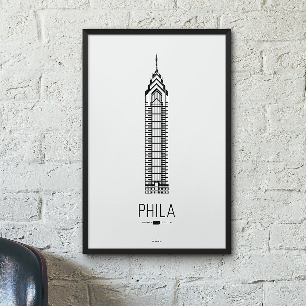 Philadelphia Icon poster hero