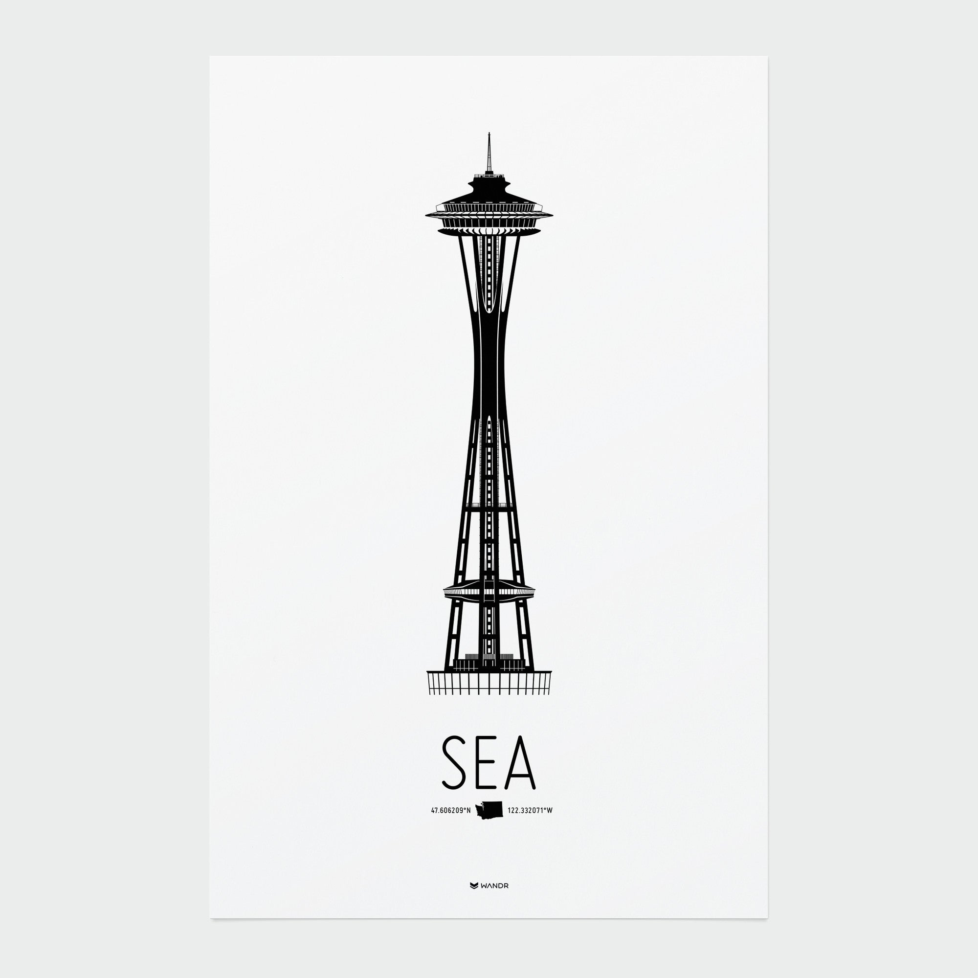 Seattle Icon poster 01