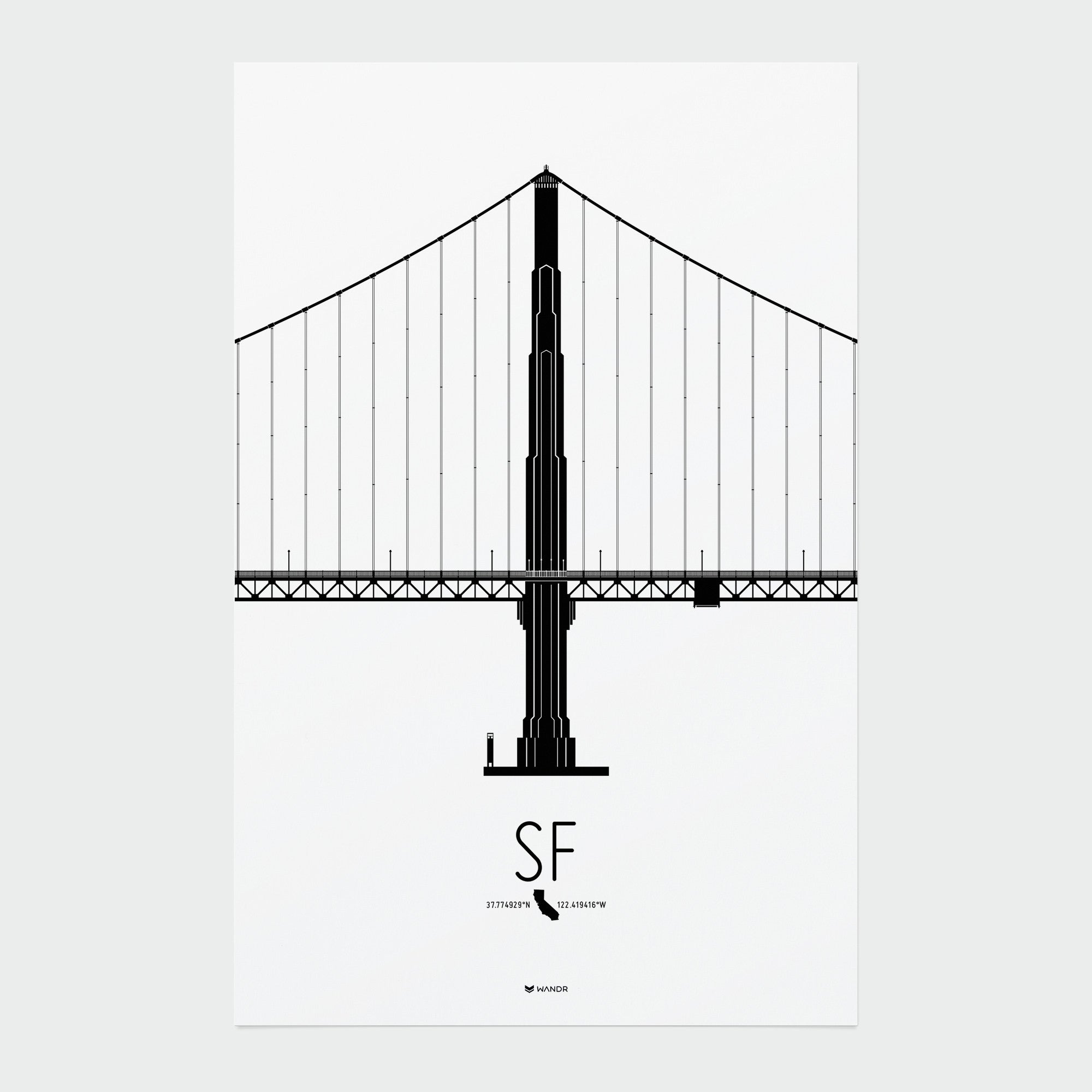 San Francisco Icon poster 01