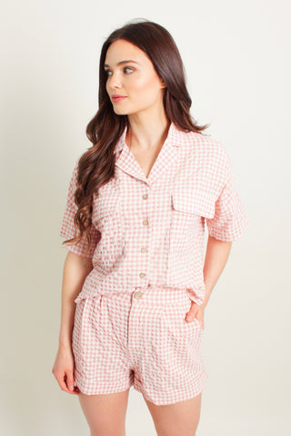 Sully Gingham Set
