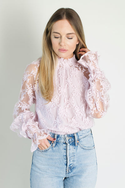 Lavender Luxe Top