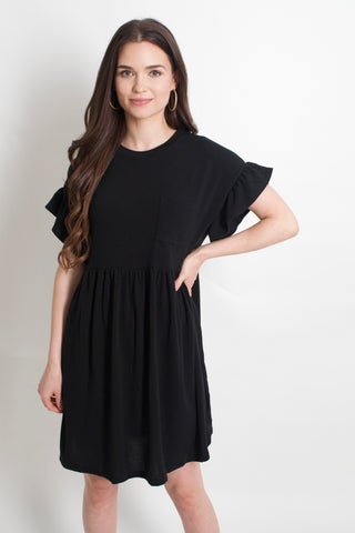 Luna Pocket T-shirt Dress