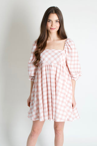 Girly Girl Check Dress