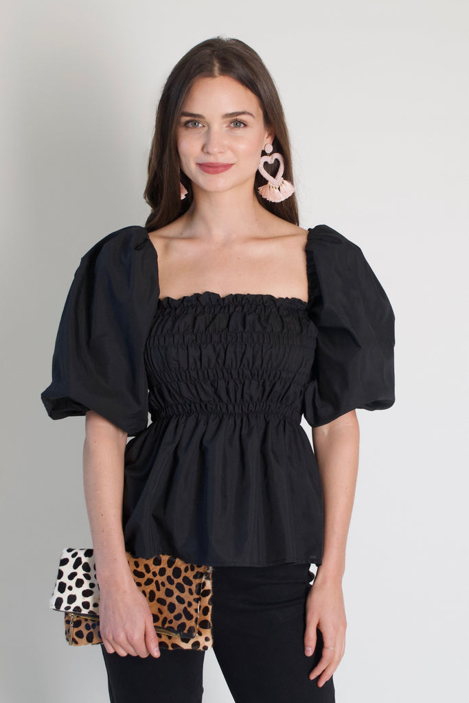 Roxy Puff Sleeve Top