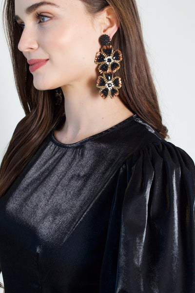 Botanical Statement Earrings