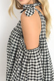 The Checked Out Blouse