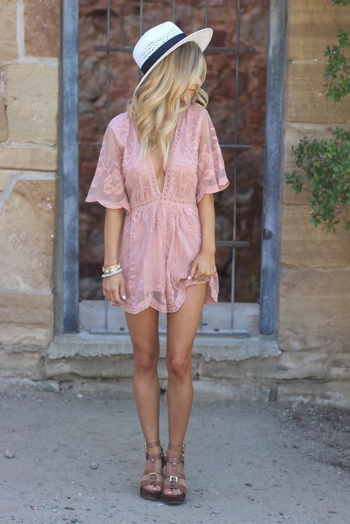 The Love + Lace Romper