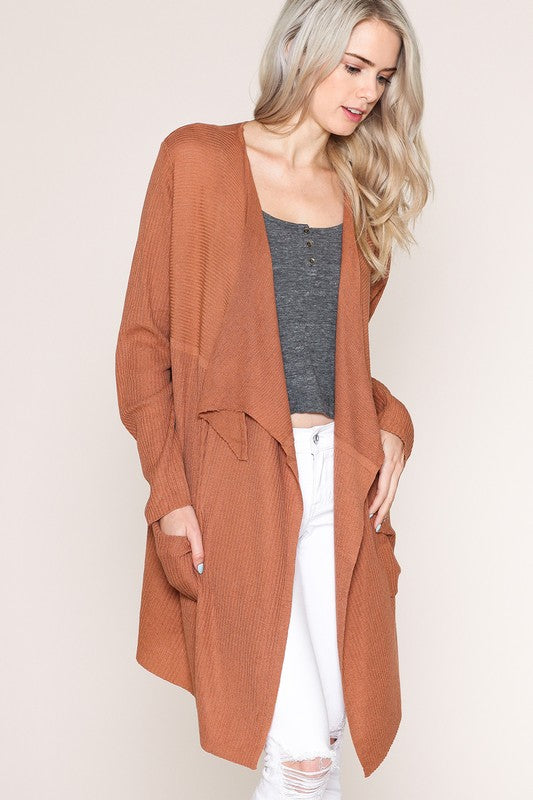 The Pumpkin Spice Cardigan