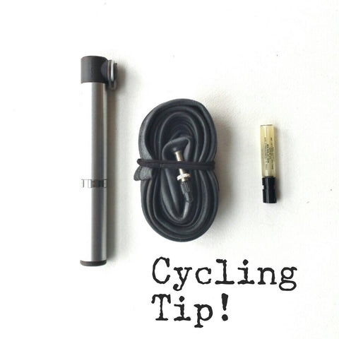 Cycling Tip - Fix a Squeaky Chain On The Go