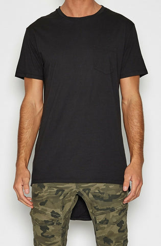 Airwolf Cape Back Pocket T-shirt