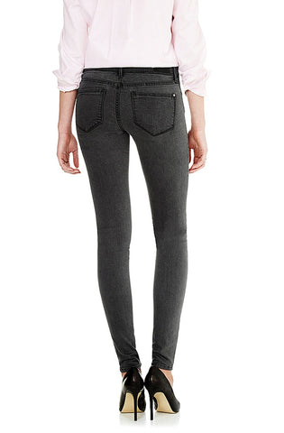 Alexa - Soft Grey Feather Jeans