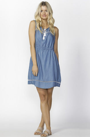 Austin Denim Sundress