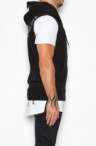 Bad Bones Zip Up Muscle Hoodie