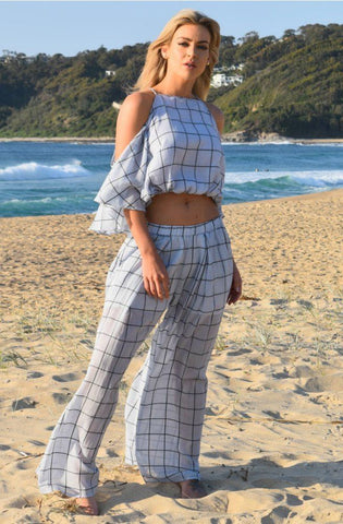 Choctaw Pants - Blue Check