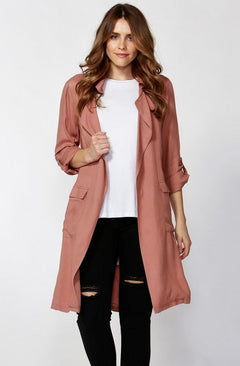 Hailie Longline Trench