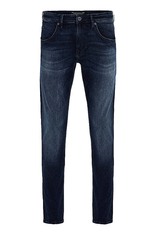 Jake - Ink Brushed White Edge Jeans