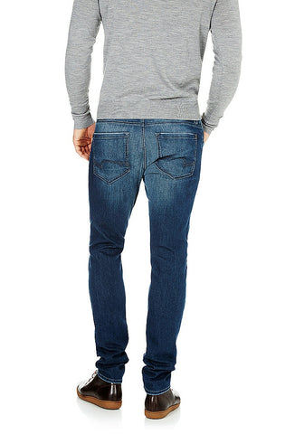 James - Skinny Dark Shaded Vintage Comfort Jeans