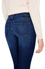 Kristy - High-Rise Super Skinny Crop Jeans by Mavi - Picpoket