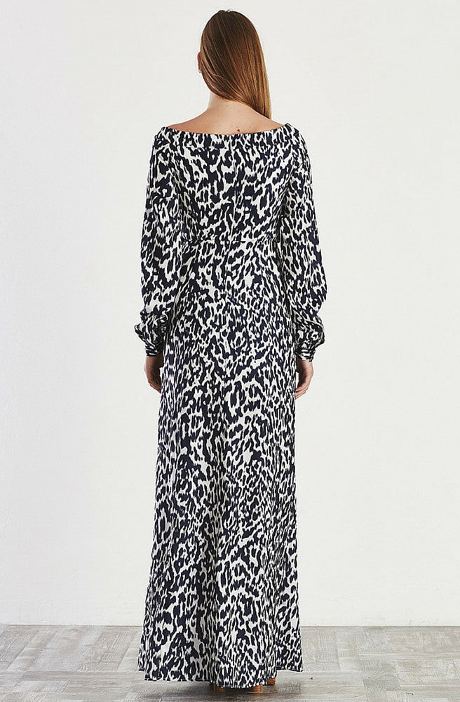 Dazed Dress Leopard by May The Label - Picpoket