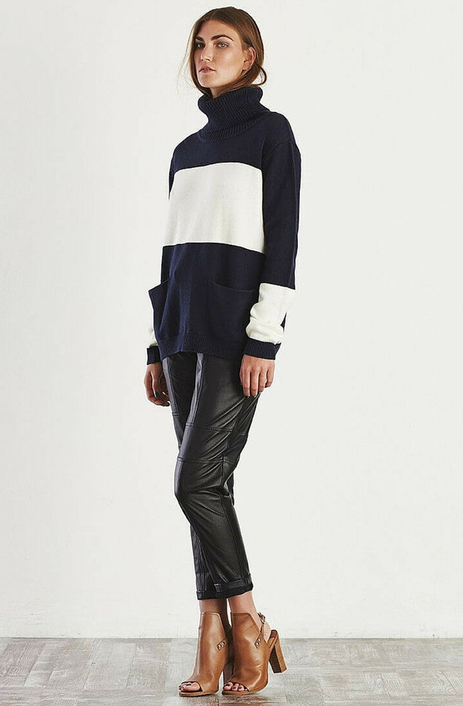Sentimental Roll Neck Sweater by May The Label - Picpoket