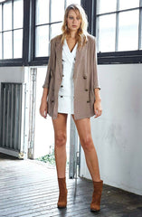 Melody Maker Jacket - Khaki by Three Of Something - Picpoket