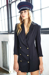 Melody Maker Jacket - Navy by Three Of Something - Picpoket